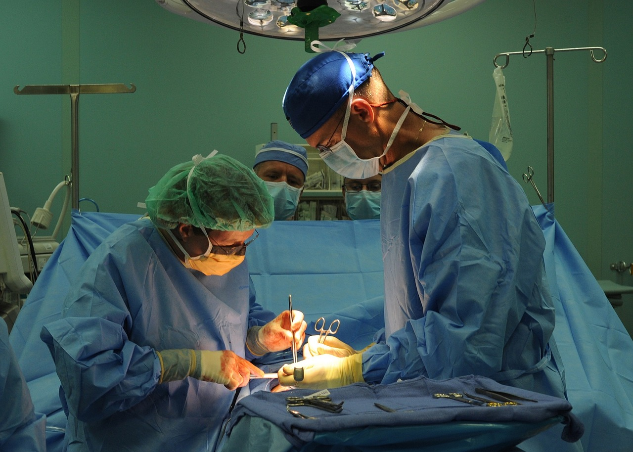 Two Surgeons Perform an Operation