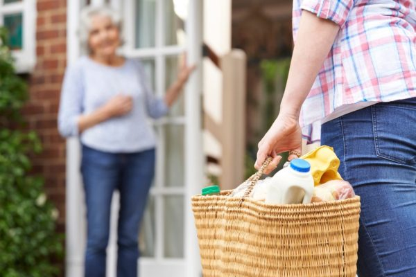 Grocery delivery for elderly citizen
